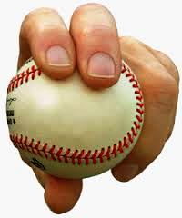 baseball pitch grip