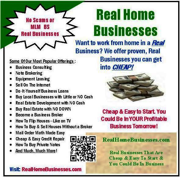 home business opportunities information